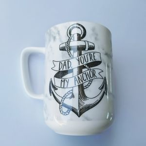 "Portobello by Design ""Dad , you are my anchor"" mug"